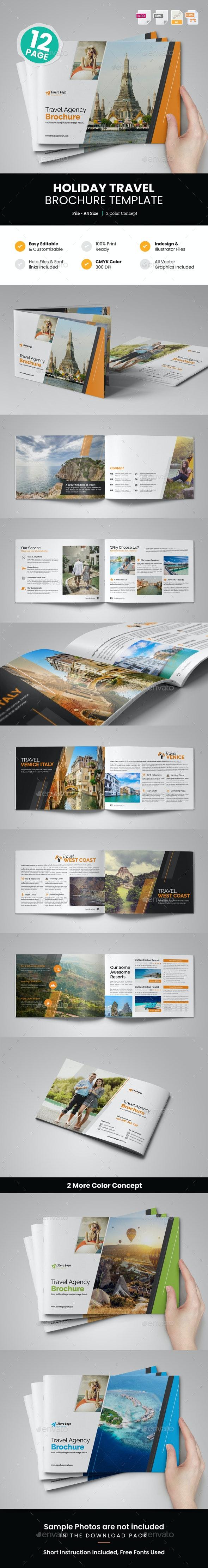 Holiday Travel Brochure Design v1 - Corporate Brochures