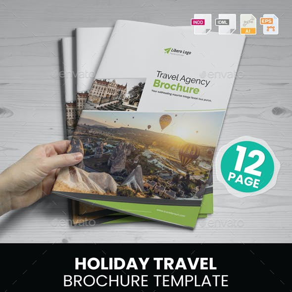 Holiday Travel Brochure Design v2