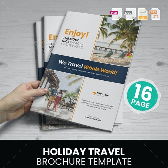 Holiday Travel Brochure Design v3