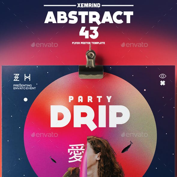 Abstract 43 Flyer/Poster Template