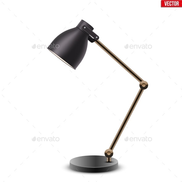 Task Table Desk Lamp - Sports/Activity Conceptual