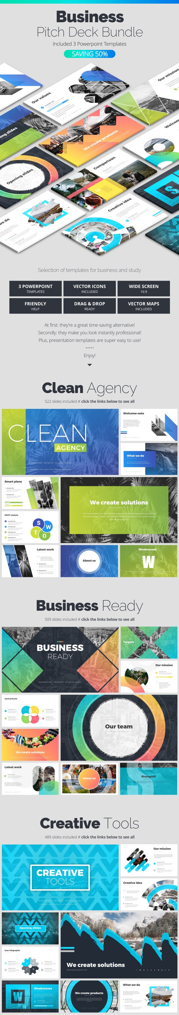 Business Bundle - Business PowerPoint Templates