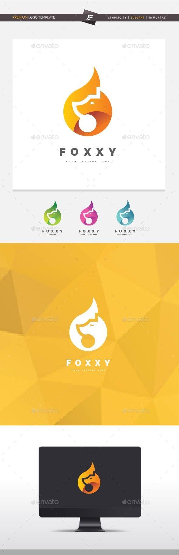 Foxxy Logo - Animals Logo Templates
