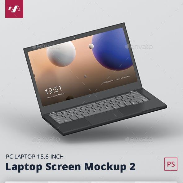 Laptop Screen Mockup 2