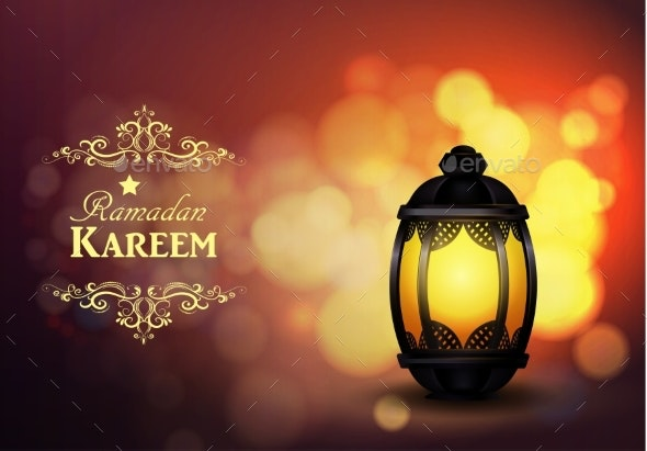 Intricate Arabic Lamp - Miscellaneous Vectors