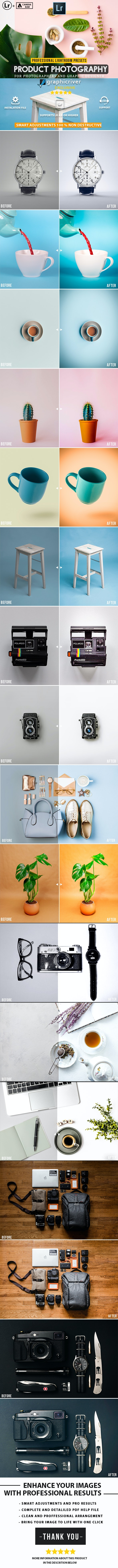 30 Product Photography Lightroom Presets - Lightroom Presets Add-ons