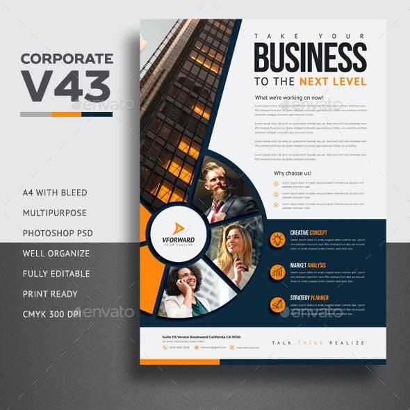 Corporate V43 Flyer