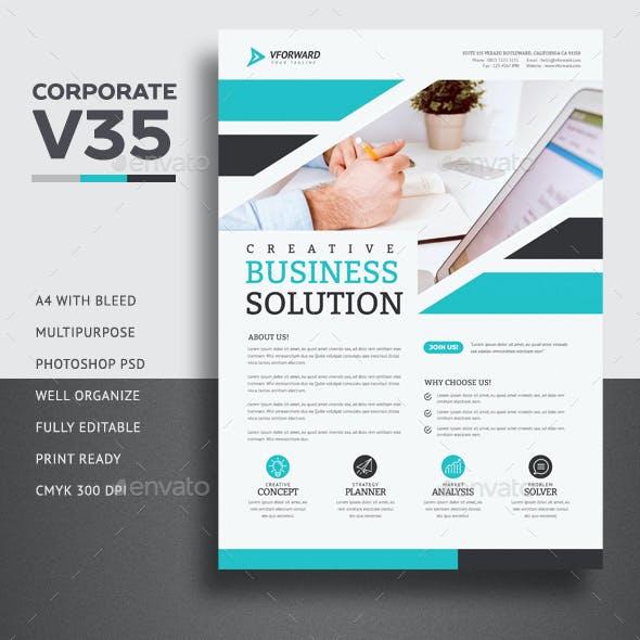Corporate V35 Flyer