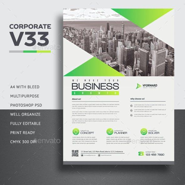 Corporate V33 Flyer