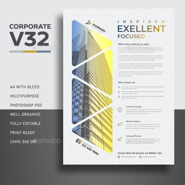 Corporate V32 Flyer