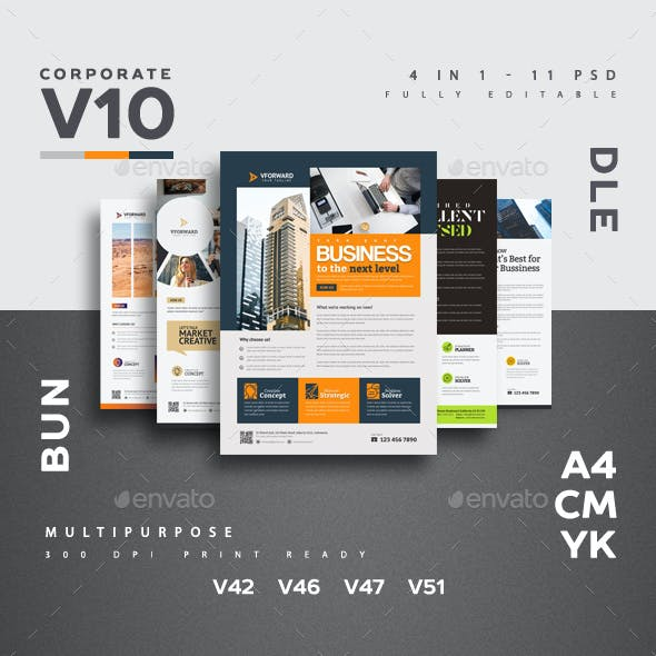 Corporate V10 Flyer Bundle