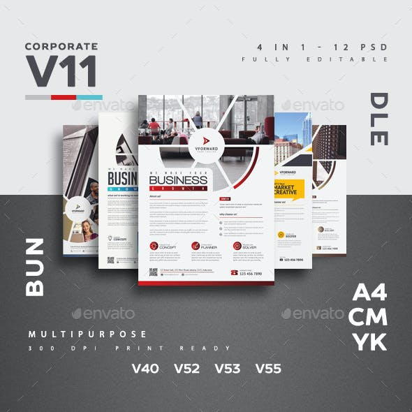Corporate V11 Flyer Bundle