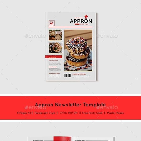 Appron Newsletter Template