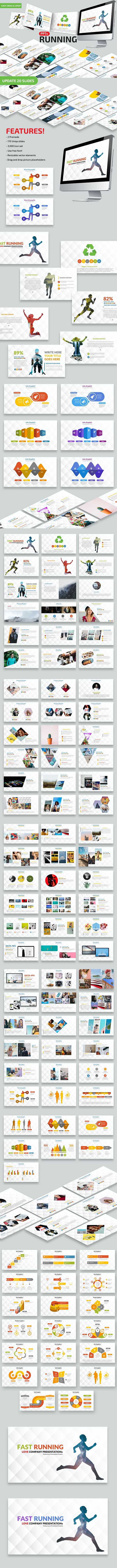 Fast Running Powerpoint - PowerPoint Templates Presentation Templates