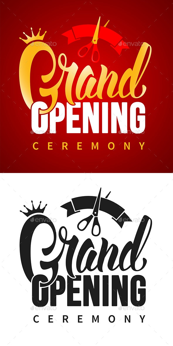 Grand Opening - Commercial / Shopping Conceptual