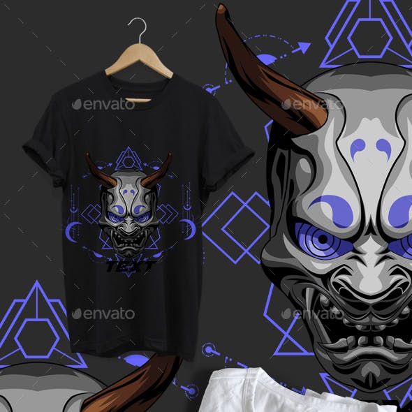 Oni Geometric Toxic Tshirt