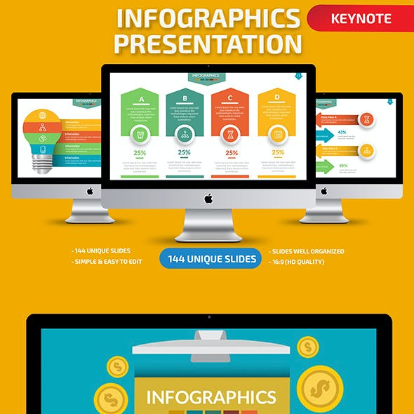 Infographic Keynote Present