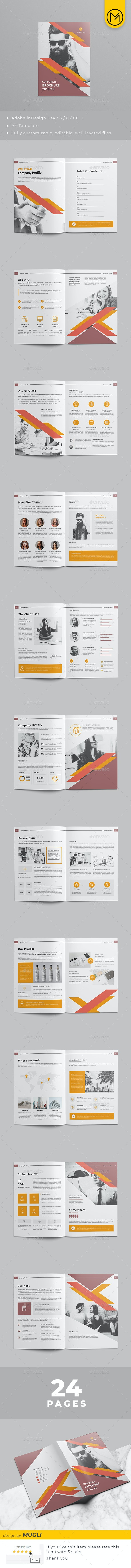 Corporate Brochure Template - Corporate Brochures