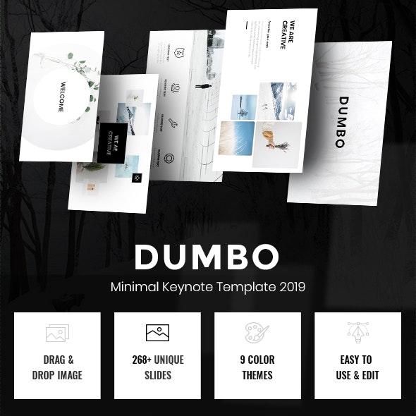 Dumbo - Minimal Keynote Template - Creative Keynote Templates