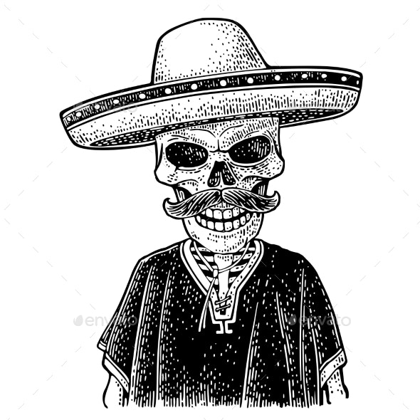 Day of the Dead Skeleton - Miscellaneous Seasons/Holidays