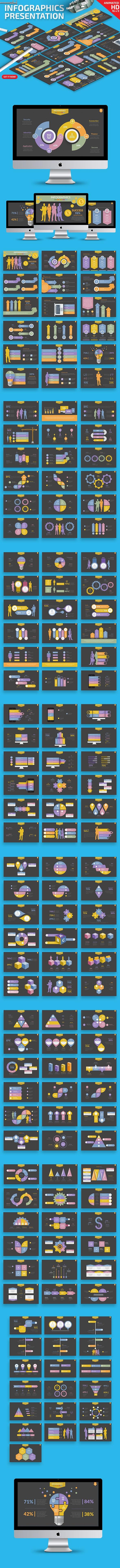 Infographics Keynote Presentation - Keynote Templates Presentation Templates