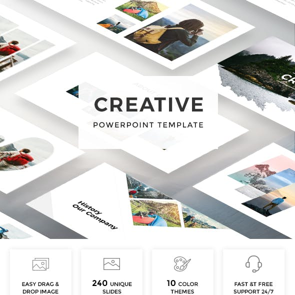 Creative Powerpoint Template 2019
