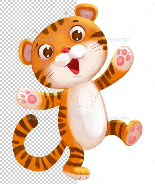 Tiger - Animals Illustrations