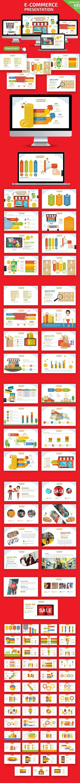 E-Commerce Powerpoint Presentation - PowerPoint Templates Presentation Templates