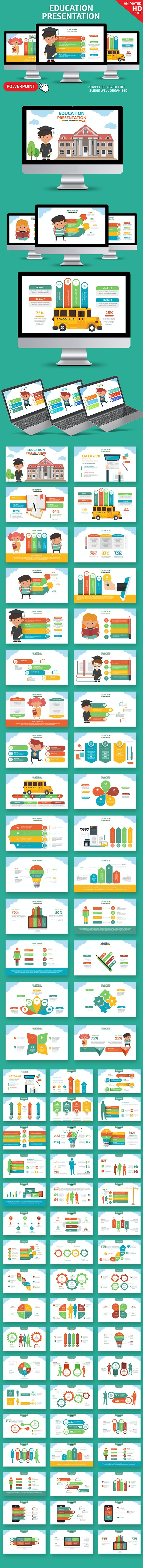 Education Powerpoint Presentation - PowerPoint Templates Presentation Templates