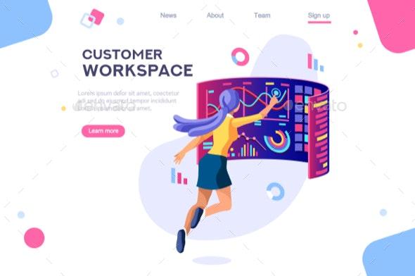 Customer Workspace Concept - Miscellaneous Conceptual