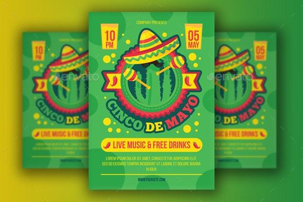 Cinco De Mayo Poster - Holidays Events