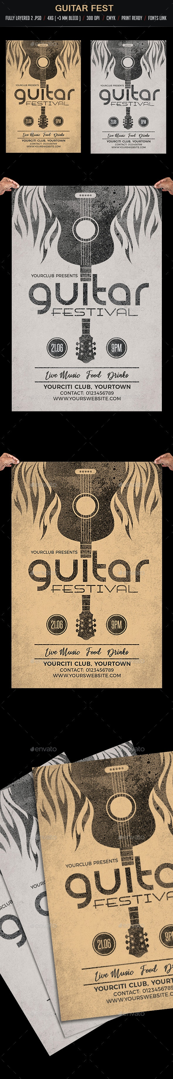 Guitar Festival - Clubs & Parties Events