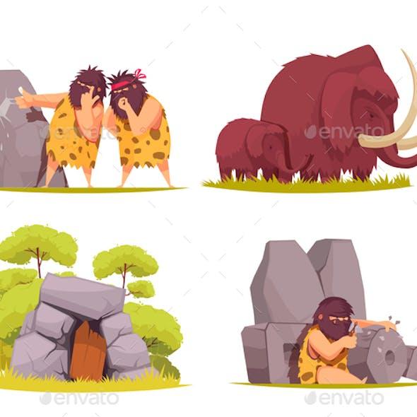 Caveman 2x2 Design Concept