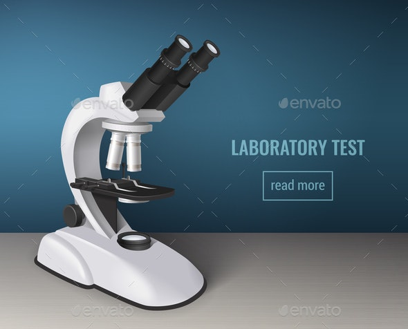 Laboratory Test Realistic Background - Miscellaneous Vectors