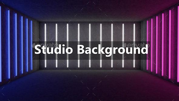 Studio Background - 3D Backgrounds