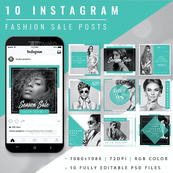 Instagram Fashion Posts