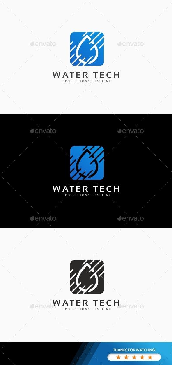 Water Tech Logo - Nature Logo Templates