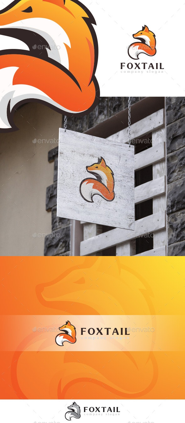 Fox Tail Logo Template - Animals Logo Templates