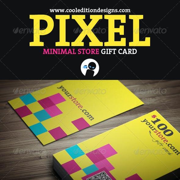 Pixel - Minimal Store Gift Card