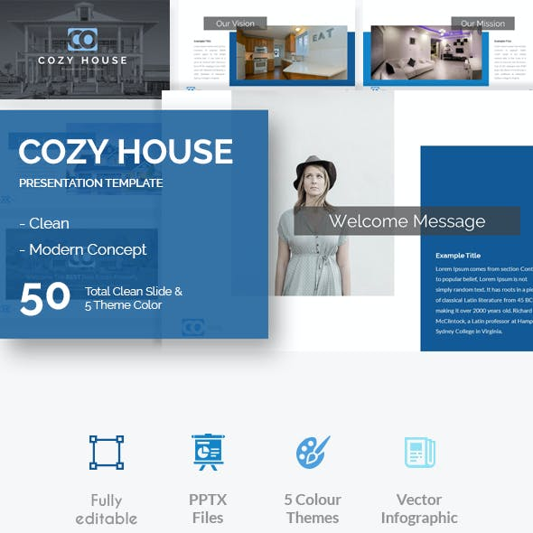 Cozy House Presentation Template