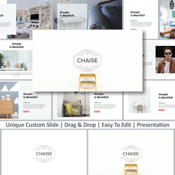 Chaise Google Slides Template
