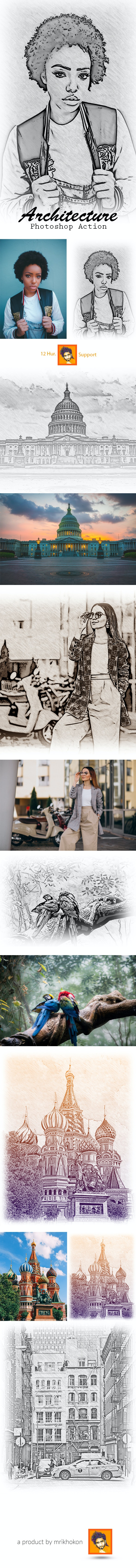 Pencil Sketch Photo Effects - Photo Effects Actions