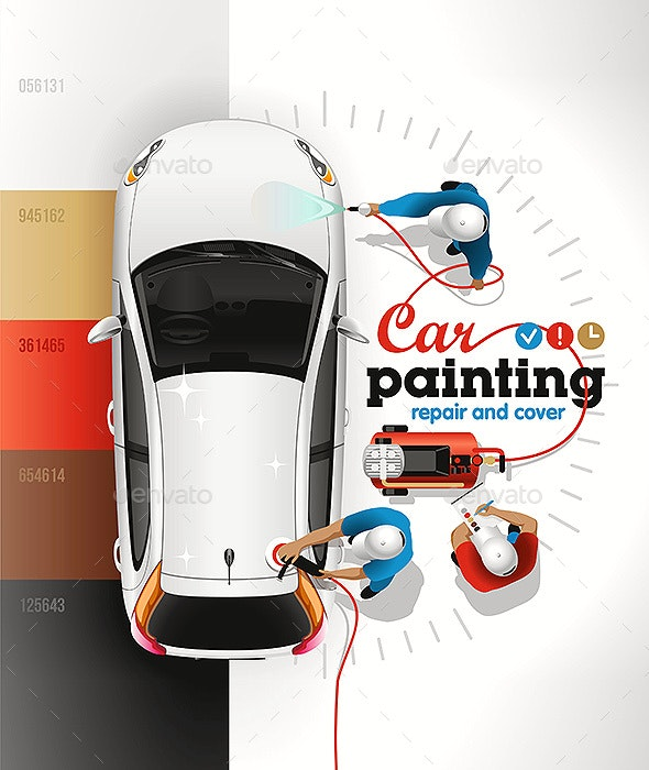 Car Painting Station - Services Commercial / Shopping
