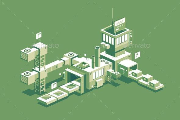 Conveyor Manufacturing Process - Industries Business
