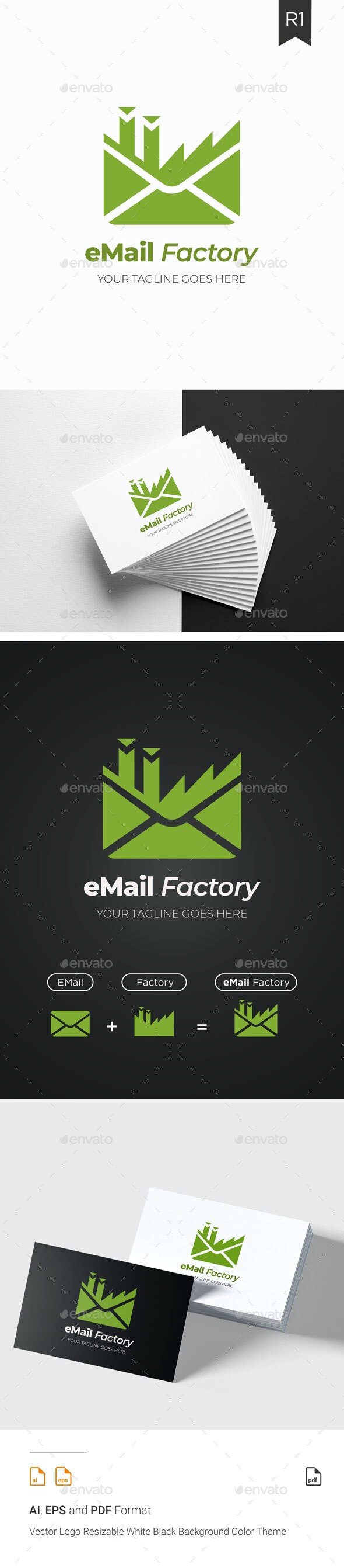 eMail Factory - Abstract Logo Templates