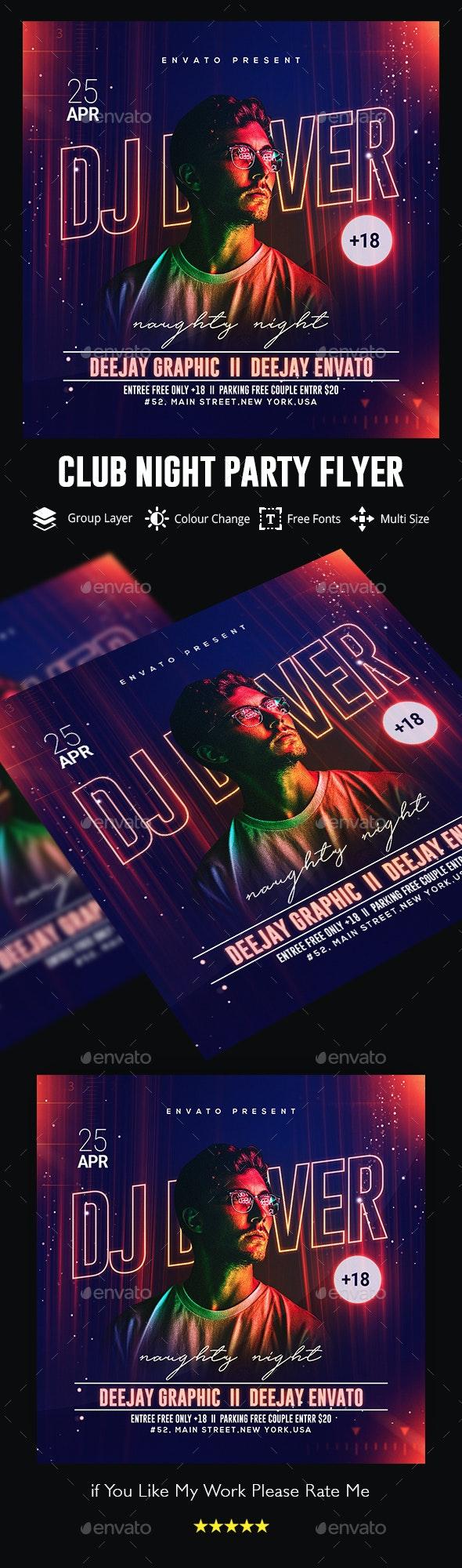 DJ Flyer - Events Flyers