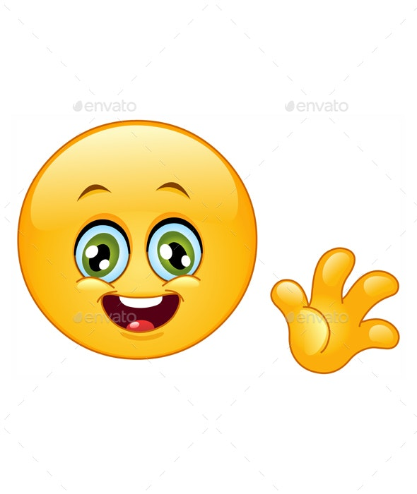 Hello Emoticon - People Characters