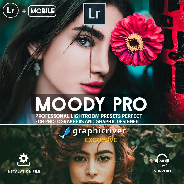 Moody Lightroom Presets And Mobile Presets