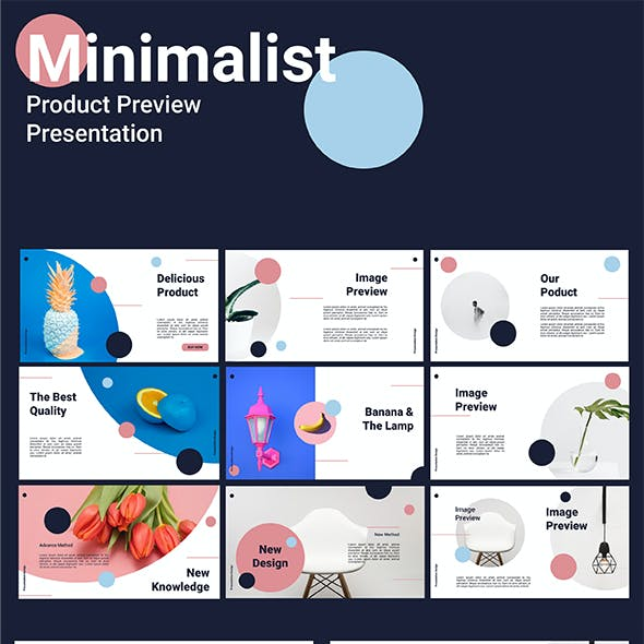 Product Preview - Minimalist Presentation