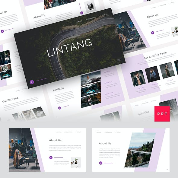 Lintang - Creative PowerPoint Template